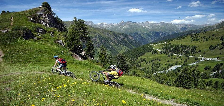 вело екскурсій по горам